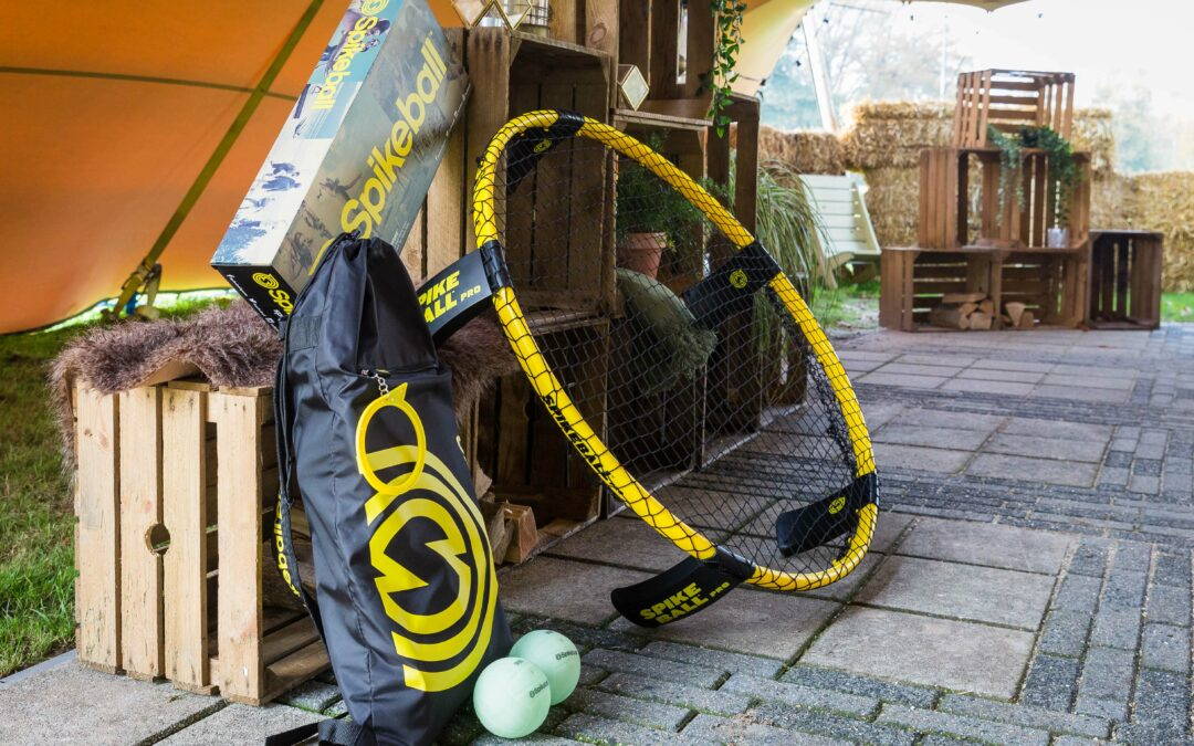 Play Spikeball and stick to those New Year's resolutions!